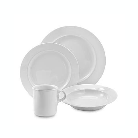 Cafe Blanc 16-Piece Dinnerware Set by Dansk  sc 1 st  Bed Bath \u0026 Beyond & Cafe Blanc 16-Piece Dinnerware Set by Dansk - Bed Bath \u0026 Beyond