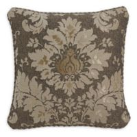 Croscill® Nerissa Damask Jacquard Throw Pillow in Neutral