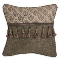 Croscill® Nerissa Tassel Trimmed Throw Pillow in Neutral