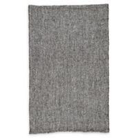 Jaipur Topper Handmade 9' x 12' Area Rug in Black/Grey