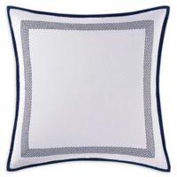 Oceanfront Resort Reef European Pillow Sham in White/Blue