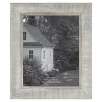 8-Inch x 10-Inch Rustic Wooden Picture Frame in Austin Grey