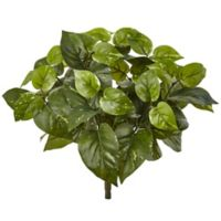 Nearly Natural 16-Inch Artificial Pothos Plants (Set of 6)