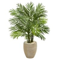 Nearly Natural 48-Inch Areca Palm Tree with Planter