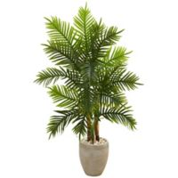 Nearly Natural 5-Foot Artificial Areca Palm Tree in Planter with Real Touch
