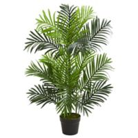 Nearly Natural 36-Inch Paradise Palm Artificial Tree with Black Planter