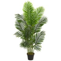Nearly Natural 5-Foot Artificial Paradise Palm Tree in Planter
