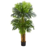 Nearly Natural 60-inch Triple Areca Artificial Palm Tree