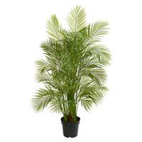 Nearly Natural 5.5-Foot Leafy Areca Palm Tree