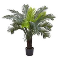 Nearly Natural™ 3-Foot Indoor/Outdoor Cycas Tree in Nursery Pot