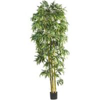 Nearly Natural 8-Foot Biggy Style Bamboo Artificial Tree