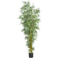 Nearly Natural 8-Foot Fancy Style Bamboo Artificial Tree