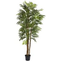 Nearly Natural 6-Foot Bella Palm Artificial Tree