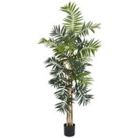Nearly Natural 5-Foot Bamboo Palm Artificial Tree