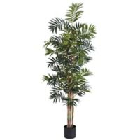 Nearly Natural 6-Foot Bamboo Palm Artificial Tree