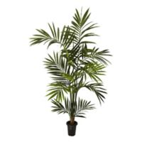 Nearly Natural 6-Foot Artificial Kentia Palm Tree in Planter