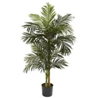 Nearly Natural 5-Foot Golden Cane Artifical Palm Tree