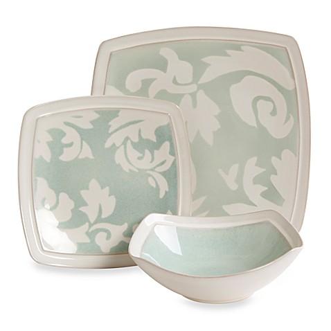 Gibson Elite Couture® Barrington Square Sage Dinnerware  sc 1 st  Bed Bath u0026 Beyond & Gibson Elite Couture® Barrington Square Sage Dinnerware - Bed Bath ...