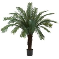 Nearly Natural 5-Foot Indoor/Outdoor Artifical Cycas Tree