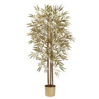Nearly Natural 5-Foot Artificial Golden Bamboo Tree