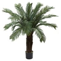 Nearly Natural 4-Foot Indoor/Outdoor Artifical Cycas Tree