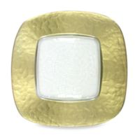 Charge It by Jay! Gold-Edge Glass Square Charger Plate