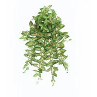 39.5-Inch Aritificial Caladium Spring Floral Hanging Plant