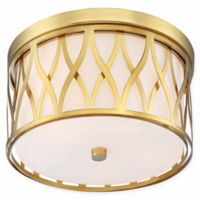 Minka Lavery® Crossed 5-Light Flush Mount Ceiling Light in Gold