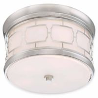 Minka Lavery Liberty 5-Light Flush Mount Ceiling Light in Polished Nickel