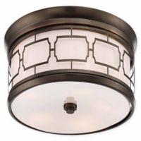 Minka Lavery Liberty 5-Light Flush Mount Ceiling Light in Bronze