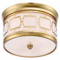 Minka Lavery Liberty 5-Light Flush Mount Ceiling Light in Gold