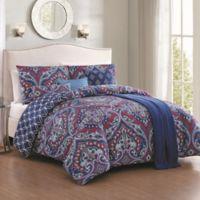 Avondale Manor Cantara 7-Piece King Comforter Set in Blue