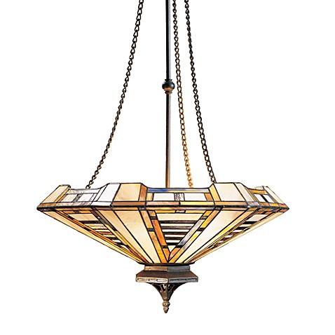 Landmark lighting american art 3 light chandelier for American classic lighting