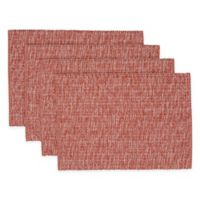 Casual Twist Rib Placemats in Wine (Set of 4)