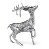 Reed & Barton North Pole Bound Buck Statement Sculpture