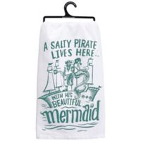 "Primitives by Kathy® ""Beautiful Mermaid"" Kitchen Towel"