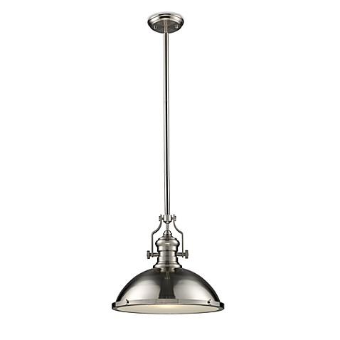 buy elk lighting chadwick 1 light pendant ceiling l in