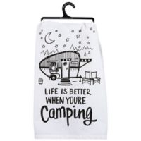 Primitives by Kathy® Better Camping Kitchen Towel