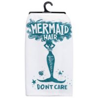 Primitives by Kathy® Mermaid Hair Kitchen Towel