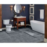 "Wamsutta® Duet Cut to Fit 60"" x 72"" Bath Carpeting in Chrome"