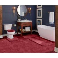 "Wamsutta® Duet Cut to Fit 60"" x 72"" Bath Carpeting in Wine"