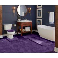 """Wamsutta® Duet Cut to Fit 72"""" x 120"""" Bath Carpeting in Grape"""