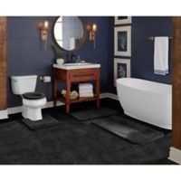 "Wamsutta® Duet Cut to Fit 72"" x 120"" Bath Carpeting in Ebony"