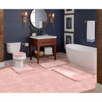 """Wamsutta® Duet Cut to Fit 72"""" x 120"""" Bath Carpeting in Rose"""