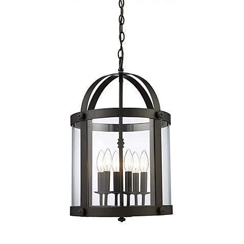 ELK Lighting Chesapeake 6-Light Lantern in Oiled Bronze