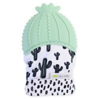 Itzy Ritzy® Silicone Cactus Teething Mitt in Green