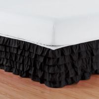 Buy Twin Black Bed Skirt Bed Bath Beyond
