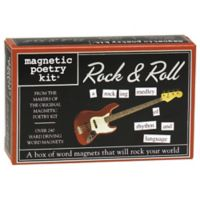 Magnetic Poetry Magnetic Poetry Kit: Rock & Roll