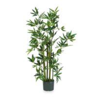 Nearly Natural 4-Foot Bamboo Silk Plant