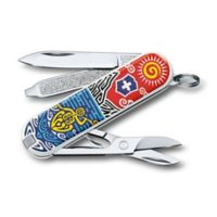 Victorinox Swiss Army Classic SD New Zealand Limited Edition 7-Function Knife